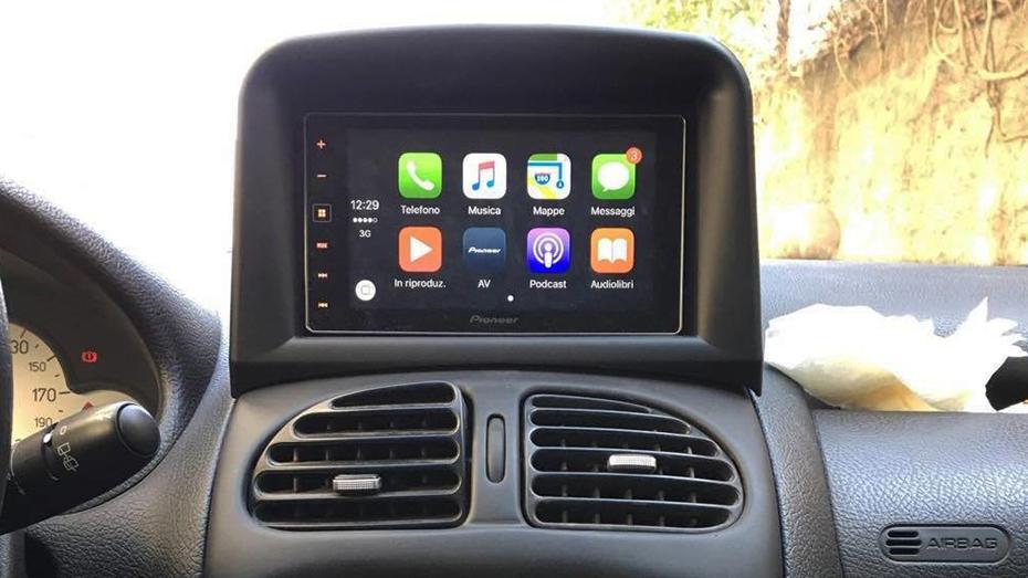 Autoradio GPS Peugeot 206